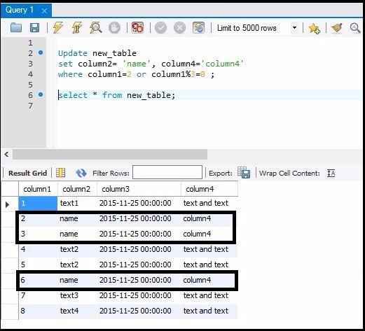 Update using When-Case statement  sc 1 st  Analytics Tuts & SQL: Update Statement - Analytics Tuts