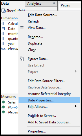 How to use Date functions in Tableau – Analytics Tuts
